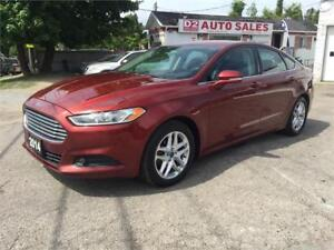 2014 Ford Fusion 1 Owner/Accident Free/Bluetooth/NAVI/Htd Seats