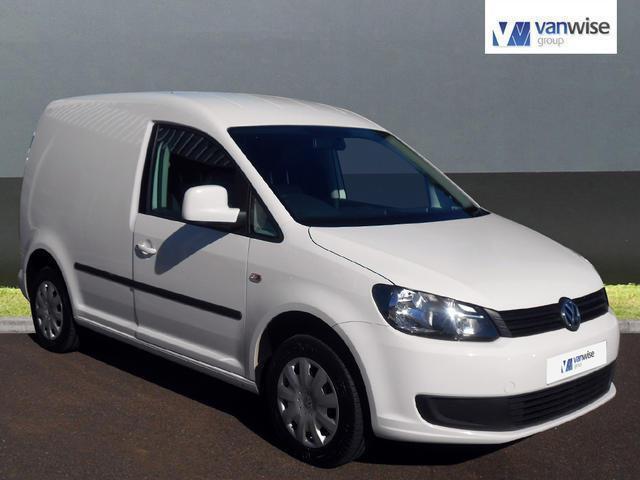 2012 Volkswagen Caddy C20 MATCH TDI 102 BLUEMOTION Diesel white Manual