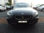 2003 BMW 5 E60 25I EXECUTIVE Black 5 Speed Auto Steptronic Sedan Croydon Burwood Area Preview