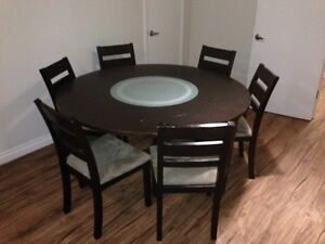 Dining Table - 6 Chairs $210.00 o.b.o.