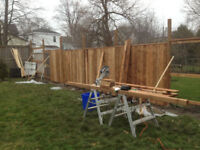FENCE, DECK, POST REPLACEMENT