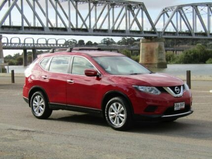 2014 Nissan X-Trail Red Constant Variable Wagon Murray Bridge Murray Bridge Area Preview