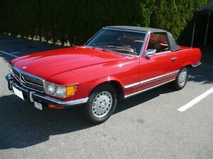Restored 1972 Mercedes 450 SL Convertible