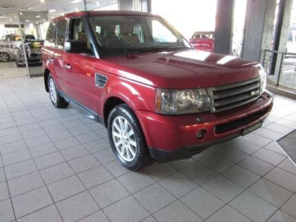 2008 Land Rover Range Rover MY08 Sport 2.7 TDV6 Red 6 Speed Sequential Auto Wagon Thornleigh Hornsby Area Preview