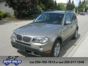 2007 BMW X3 AWD LOW KM! 3.0i ON SALE!