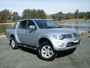 2015 Mitsubishi Triton MN MY15 GLX-R (4x4) Silver 5 Speed Manual 4x4 Dual Cab Utility Belconnen Belconnen Area Preview