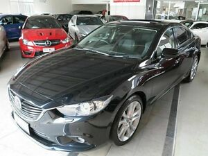 2013 Mazda 6 GJ1031 Atenza SKYACTIV-Drive Black 6 Speed Sports Automatic Sedan Albion Brisbane North East Preview