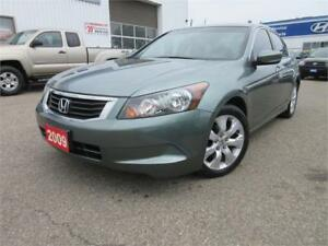 2009 Honda Accord EXL-LEATHER,S ROOF,CERTIFIED,WARRANTY,$8,995