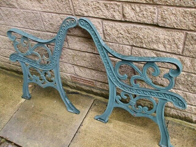 Fabulous 2 X Vintage Cast Iron Bench Ends Garden Furniture In Huddersfield West Yorkshire Gumtree Andrewgaddart Wooden Chair Designs For Living Room Andrewgaddartcom