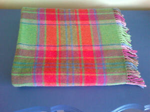 100% Lambswool Blanket - John Hanly