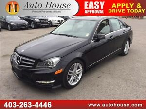 2014 MERCEDES C300 NAVIGATION BACKUP CAMERA 4MATIC AWD