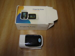 Fingertip and pulse Oximeter