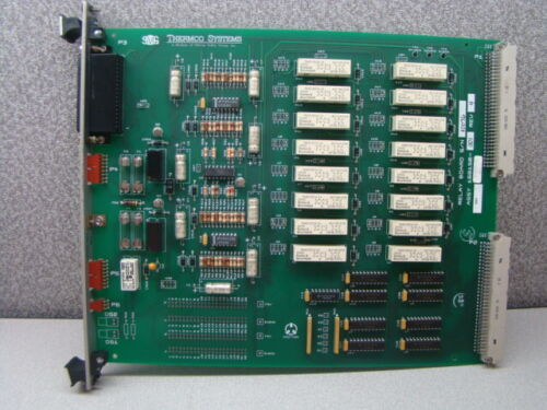 SVG Thermco 603855-04 Relay Wet / Dry Oxide Process PCB Assembly