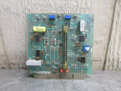 Powertron Pn 100-3 Current Amplifier Board 30 Day Warranty