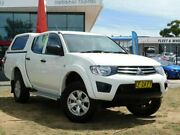 2015 Mitsubishi Triton MN MY15 GLX (4x4) White 5 Speed Manual 4x4 Double Cab Utility Belconnen Belconnen Area Preview