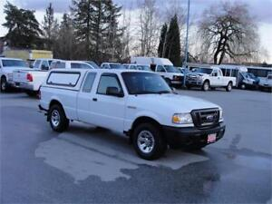 2009 FORD RANGER XL 2WD EXT CAB w/ CANOPY *GOOD TRUCK*