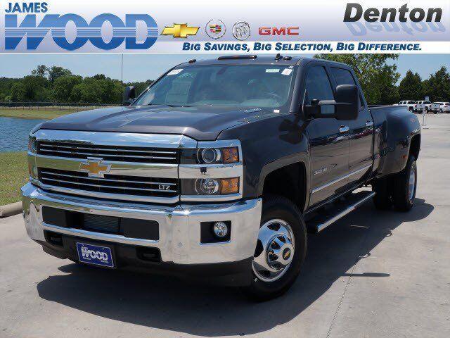Chevrolet : Silverado 3500 LTZ LTZ Diesel New 6.6L CD 4X4 Locking/Limited Slip Differential Tow Hitch Tow Hooks