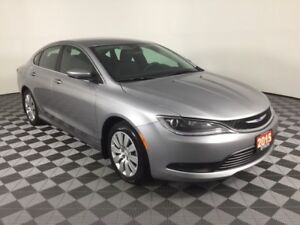 2015 Chrysler 200 LX w/EXTRA LOW KMS, ECONOMICAL 4 CYLINDER, PUS