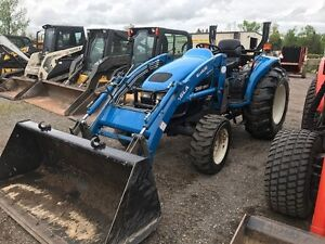 New Holland TC40D Compact Tractor
