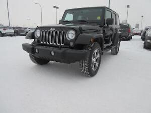 2016 Jeep Wrangler Unlimited Sahara NO INSURANCE CLAIMS & CERTIF