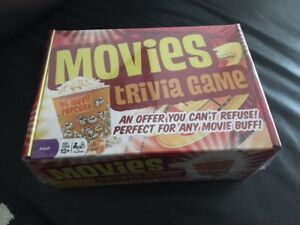 Movies Trivia Game Outset Media New in Box Unopened