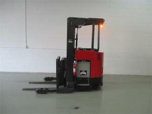 Forklift Reach Raymond Easi DR30-TT, Lift truck electric