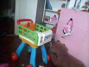 Vtech interactive kitchen/ shopping cart