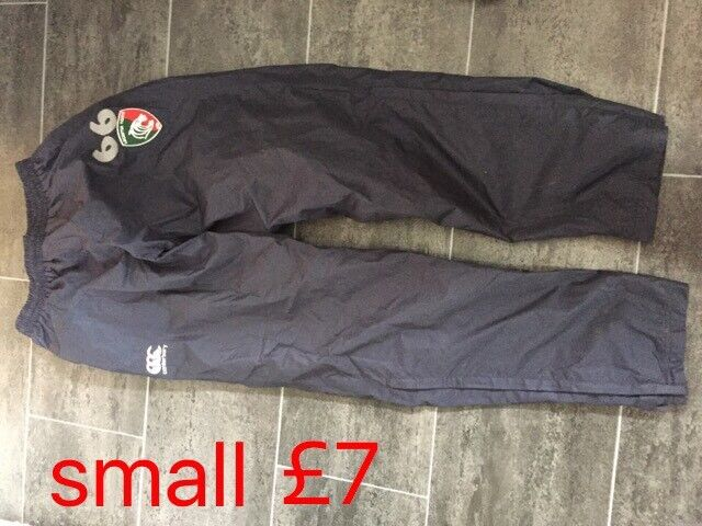 Small Leicester Tigers rugby trousers
