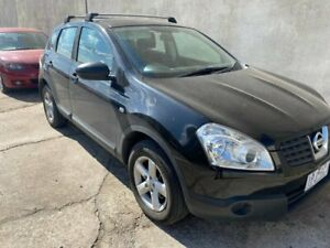 2008 Nissan Dualis J10 ST (4x4) Black 6 Speed CVT Auto Sequential Wagon Hoppers Crossing Wyndham Area Preview