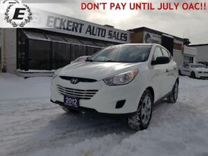 2012 Hyundai Tucson GL  DON'T PAY UNTIL JULY OAC!