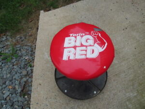 Big Red Mechanics Stool
