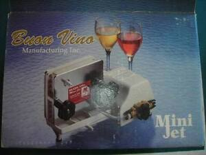 MINT CONDITION BUON VINO MINI JET WINE FILTER WITH ONE FILTER PA
