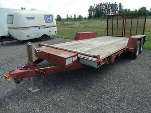 16 foot used equipment trailer