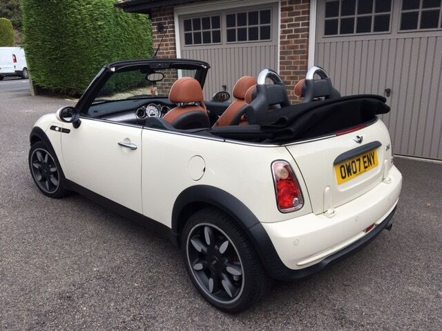 Immaculate condition, low mileage, convertible