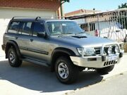 2004 Nissan Patrol GU III MY2003 ST Silver 5 Speed Manual Wagon Mount Lawley Stirling Area Preview