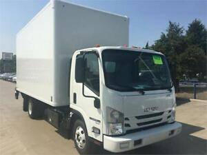 2019 ISUZU NPR HD 16' ITB BODY WITH TAILGATE
