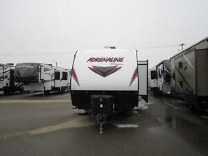 NEW COACHMEN ADRENALINE 30 QBS TOY HULER TRAVEL TRAILER