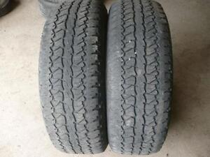 Two 275-65-18 tires   $140.00
