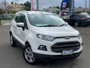 2015 Ford Ecosport White Sports Automatic Dual Clutch Wagon Hoppers Crossing Wyndham Area Preview