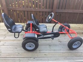 Berg Classic Extra BFR 2 Seat Go Kart Limited Edition Red.