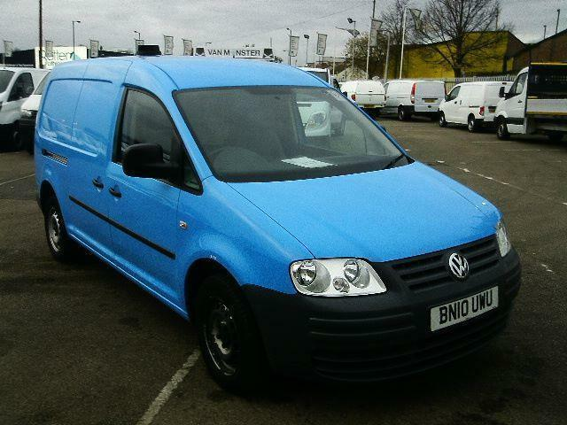 Volkswagen Caddy C20 1.9 TDI PD 104PS VAN (A/C) Blue DIESEL MANUAL BLUE (2010)