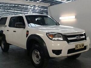 2010 Ford Ranger PK XL (4x2) White 5 Speed Automatic Dual Cab Pick-up Beresfield Newcastle Area Preview