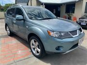 2008 Mitsubishi Outlander ZG MY09 VR-X Luxury (7 Seat) 6 Speed Auto Sports Mode Wagon Mount Hawthorn Vincent Area Preview