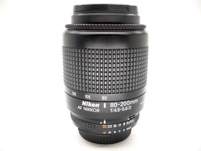 80-200mm Original Nikon Nikkor Zoomobjektiv Teleobjektiv Vollformat Telezoom, gebraucht gebraucht kaufen  Clausen