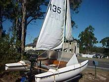 Catamaran + Trailer + Outboard Motor (NEEDS TO GO) North Ward Townsville City Preview