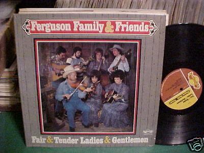Xian Folk Bluegrass Lp Custom Ferguson Family   Friends All Star Musicians Look