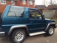 FOR SALE: Daihatsu Sportrak 4x4 (Excellent Condition for Year) **LOW MILEAGE & FSH**