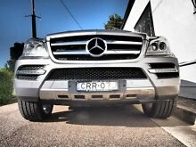 2011 Mercedes-Benz GL450 CDI X164 MY11 Luxury Palladium Silver 7 Speed Sports Automatic Wagon Petersham Marrickville Area Preview