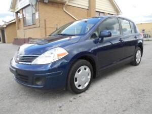 2009 NISSAN Versa 1.8 S Automatic Hatchback Certified ONLY 79KMs