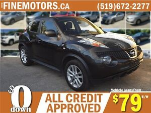2011 NISSAN JUKE SV AWD * CAR LOANS FOR ALL CREDIT FROM $79 b/w London Ontario image 1